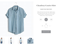 eCommerce Page- Daily UI 012