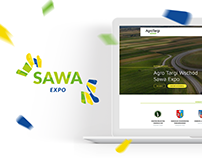 SAWA EXPO - Logo and Web Design