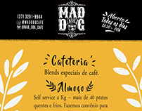 Flyer Mad Dog Café