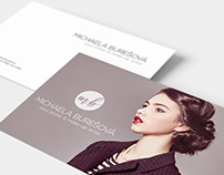 Logo for stylist & make-up artist