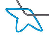 BinaStar   logo design
