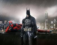 Batman V Deadpool | Movie Poster