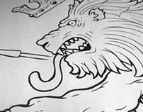 Fighting Lion