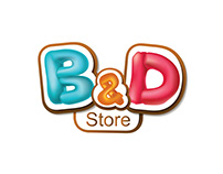 B&D Toy Store - social media designs