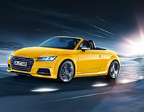 Audi TT Roadster and TTS Roadster Campaign Print