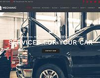 Mechanic WordPress Theme Home Page Slider
