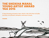 The Sheikha Manal Young Artist Award - 2015.
