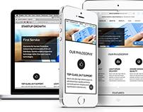 Startup Growth Lite – Free PSD & Drupal theme