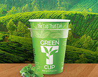 Green T Cup : E-Commerce
