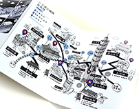 [ Taipei Rapid Transit Travel Map |  手繪台北捷運旅遊地圖 ]