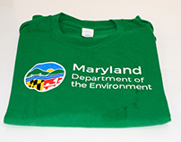 Maryland Department of the Environment Branded Apparel