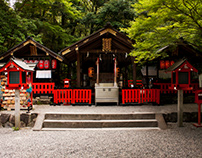 Smaller Shrines & Temples of Japan