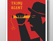 THE SECRET AGENT - TAJNY AGENT plakat