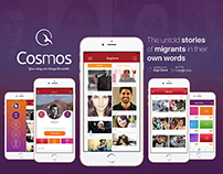Cosmos App - Your story can change the world.