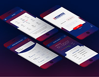 UI/UX For Banking Sector, Mobile and Web