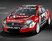 Fiat Linea TN Clase 3 Argentina - FP Racing