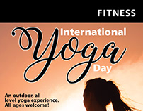 Yoga Poster and Flyer, City of Brampton