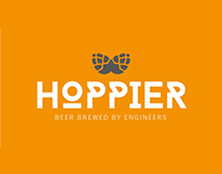 Hoppier Beer - Brand project