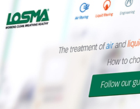 LOSMA SpA website and digital strategy