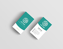 Business cards for Bite Mart.