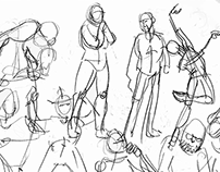 Quickposes Sketches