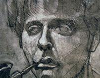 "18""x24"",Self Portrait, 2012"