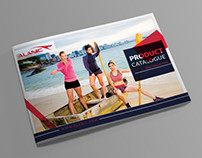 Catalogue Cover Design for an sport brand