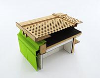 Maquete de Detalhe Construtivo - Ekihouse | Ehuteam
