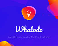 Whatodo - Experiences for Creatives #IconContestXD