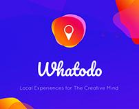 Whatodo - Experiences for Creatives #IconContestXD