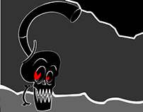 Flash / Skull Animation