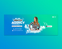Business Creative Facebook Cover Template Premium PSD
