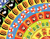 Video Game Pattern Prints