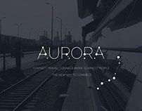 Aurora Fast Rail Identity