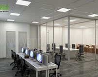 Beautiful & Creative 3D Commercial Office Design View