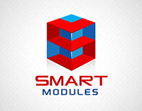Smart modules innovation engineering business logo icon