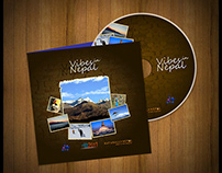 CD cover print design