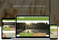 Stewart Timber | UX Redesign and Marketing