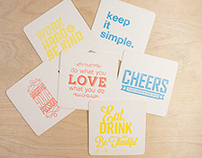 Coasters for your thoughts