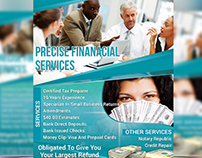 Precise Financial Services Flyer Template