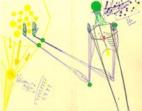 ZERO -more art journal in Moleskine notebooks -