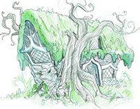 Enchanted Forest Sketches