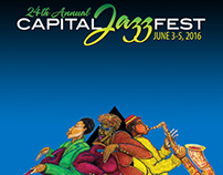Graphic Design - Capital Jazz Fest