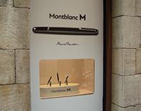 Escaparate de Montblanc M en Raima