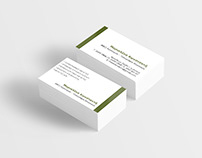 Business card for engineer