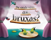 """De onde vêm as bruxas?"" Childrens' Book"