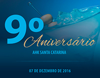 Aniversário AHK Santa Catarina