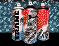 Spraypaint brand redesign
