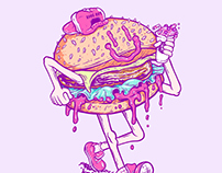 Rudeboy Burger - Illustration