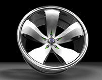 VW Flower Power Wheel
